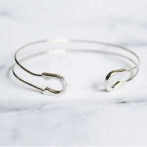 Jewelry | Safety pin delicate hardware bracelet